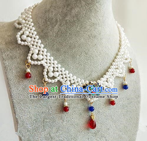 Chinese Traditional Hanfu Necklace Traditional Classical Jewelry Accessories for Women