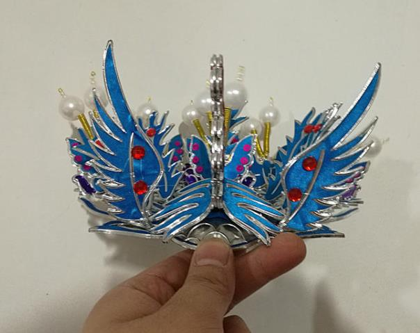 Chinese Traditional Peking Opera Phoenix Hairpins Beijing Opera Diva Headwear for Women