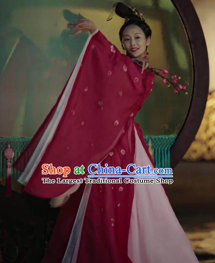 Ancient Chinese Qing Dynasty Palace Dance Dress Manchu Imperial Concubine Embroidered Costumes and Headpiece for Women