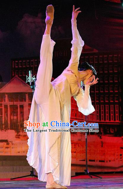 Chinese Traditional Classical Dance Costumes Stage Performance Dress for Women