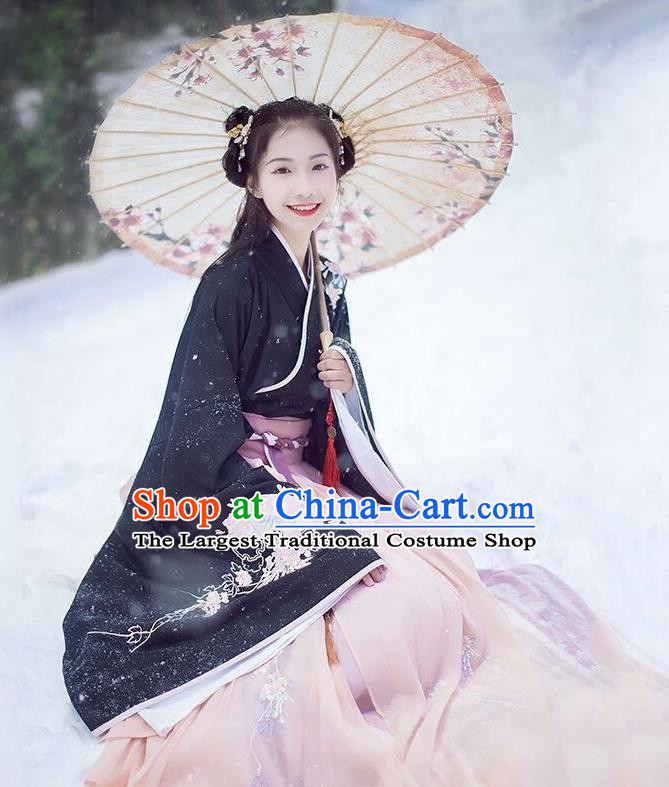 Chinese Ancient Princess Historical Costumes Traditional Han Dynasty Palace Hanfu Dress for Women