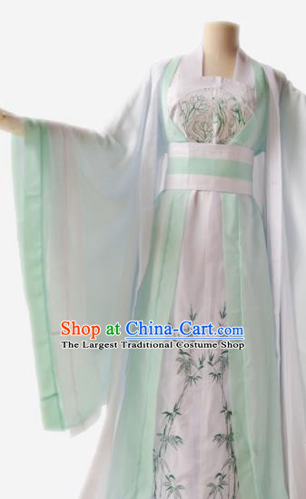Traditional Chinese Tang Dynasty Aristocratic Lady Costumes Ancient Cosplay Princess Hanfu Dress for Women