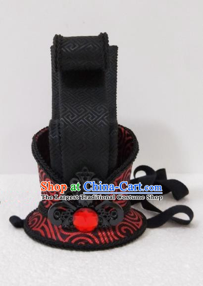 Chinese Ancient Nobility Childe Hair Accessories Han Dynasty Bridegroom Headwear for Men