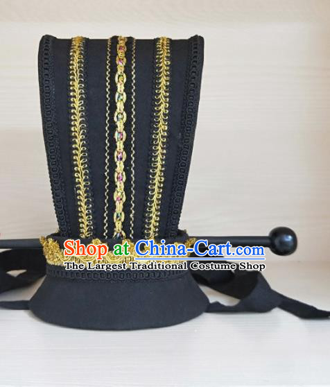 Chinese Ancient Nobility Childe Hair Accessories Han Dynasty Prince Headwear for Men