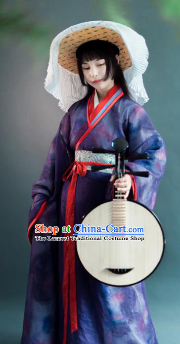Chinese Traditional Han Dynasty Historical Costumes Ancient Princess Hanfu Dress for Women