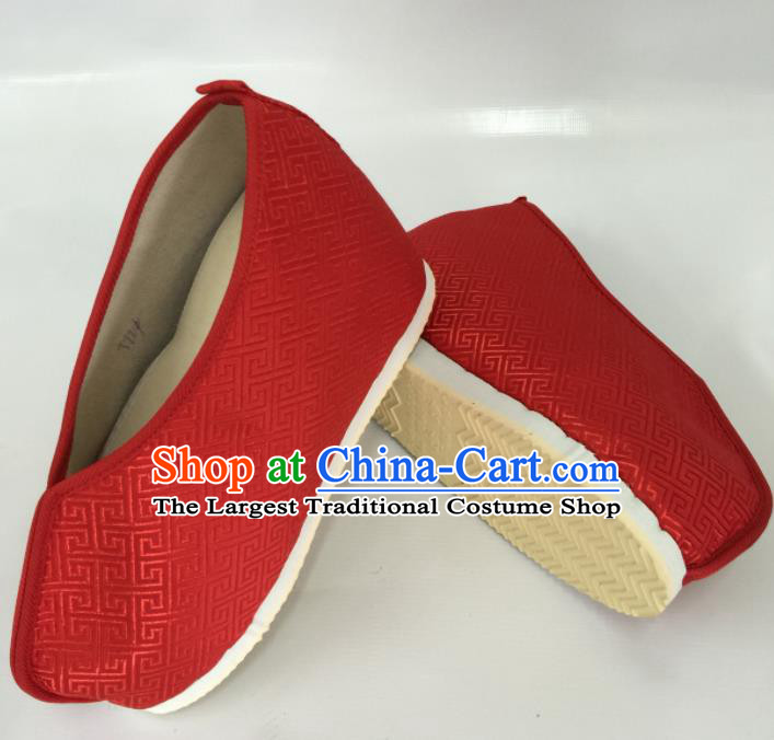 Traditional Chinese Shoes Ancient Princess Shoes Hanfu Wedding Shoes Opera Red Shoes for Women