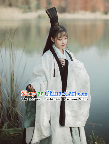 Chinese Ancient Han Dynasty Historical Costumes Traditional Hanfu Dress Complete Set for Women