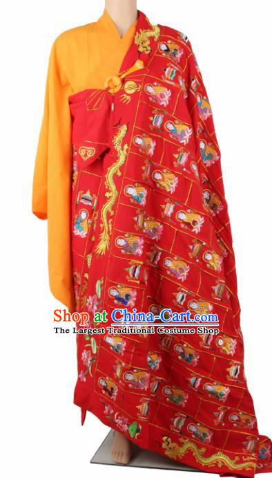 Chinese Traditional Buddhist Buddha Cassock Buddhism Dharma Assembly Monks Costumes for Men