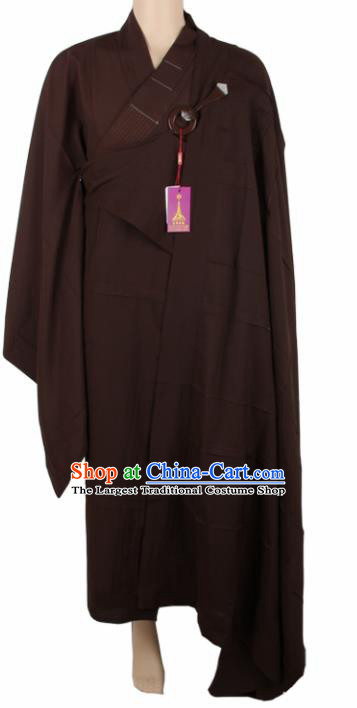 Chinese Traditional Buddhist Cassock Buddhism Dharma Assembly Monks Costumes for Men