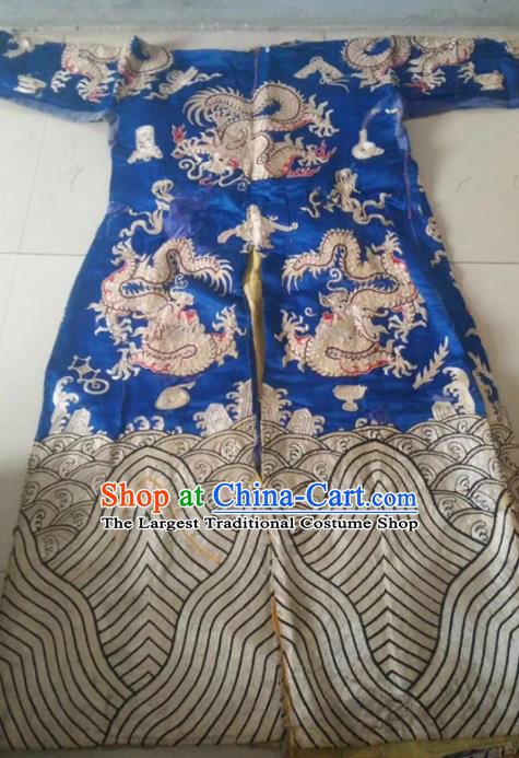 Chinese Traditional Costume Tang Suit Embroidered Qipao Palace Cheongsam for Women