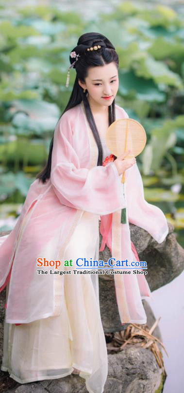 Chinese Traditional Song Dynasty Princess Hanfu Dress Ancient Nobility Lady Historical Costumes for Women