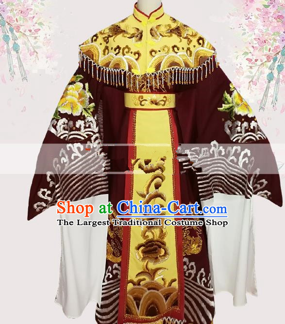 Professional Chinese Traditional Beijing Opera Queen Mother Dress Ancient Dowager Countess Costumes for Women