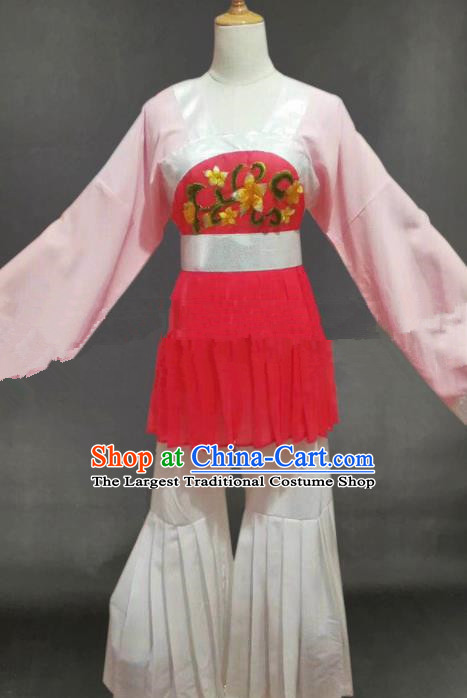 Professional Chinese Traditional Peking Opera Young Lady Dress Ancient Slave Girl Costume for Women