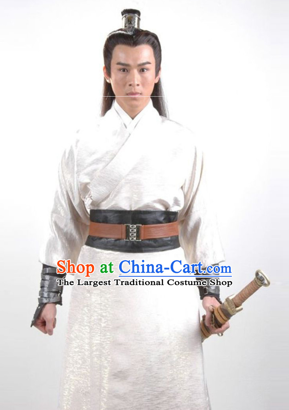 Ancient Chinese China Male Civilian Costumes Common People Hanfu Costumes for Men