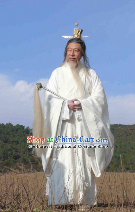 Chinese Ancient Mythology Immortal Taoism God Tai Bai Jin Xing Costumes Complete Set