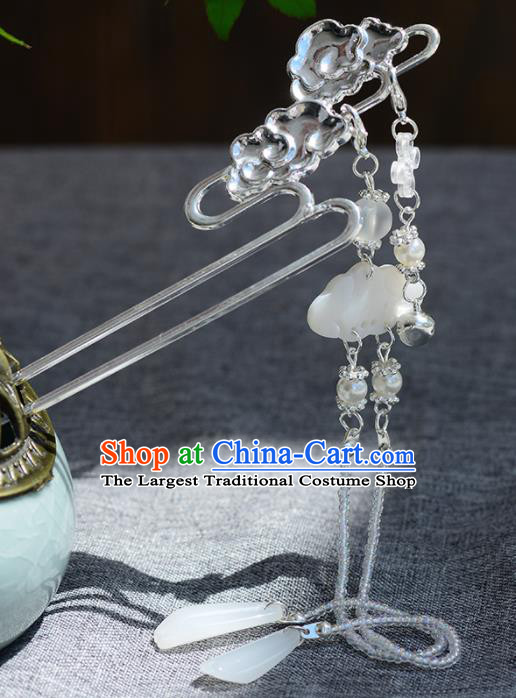 Chinese Ancient Tang Dynasty Palace Princess Cloud Hairpins Traditional Hanfu Court Hair Accessories for Women