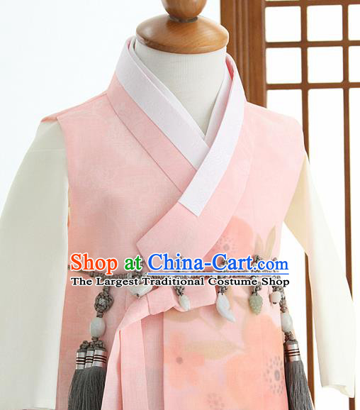 Traditional Korean Hanbok Waist Accessories Asian Korea Fashion Apparel Belts for Kids