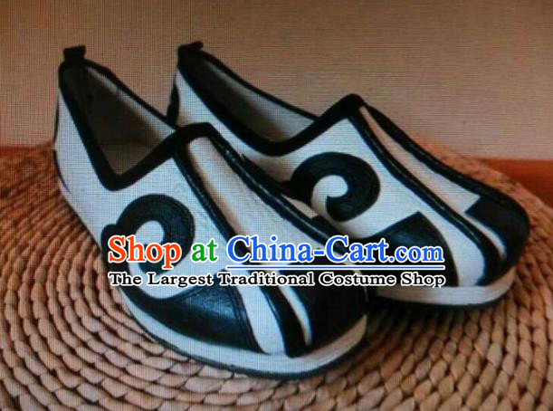 Chinese Kung Fu Shoes Mens Shoes Opera Shoes Hanfu Shoes Embroidered Shoes Monk Shoes