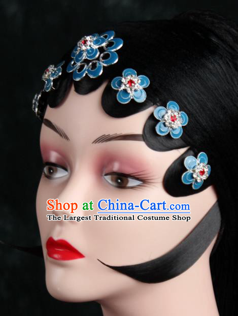 Chinese Traditional Beijing Opera Diva Hair Accessories Peking Opera Princess Hairpins for Women