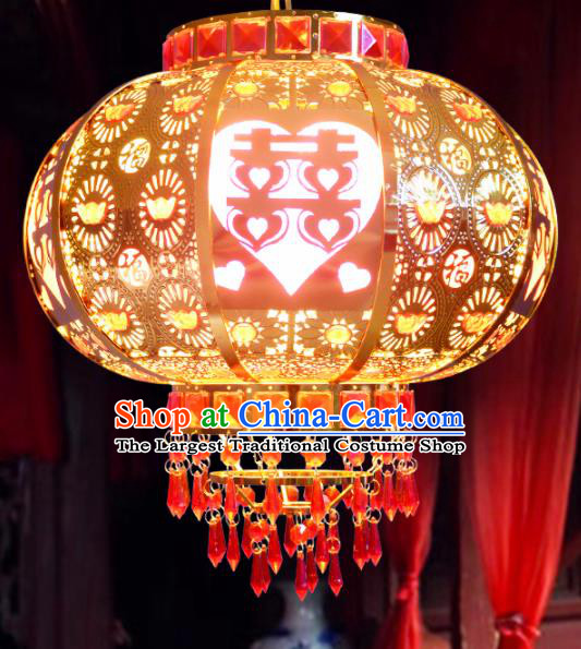 Chinese Traditional New Year Palace Lantern Handmade Wedding Hanging Lantern Asian Ceiling Lanterns Ancient Lamp