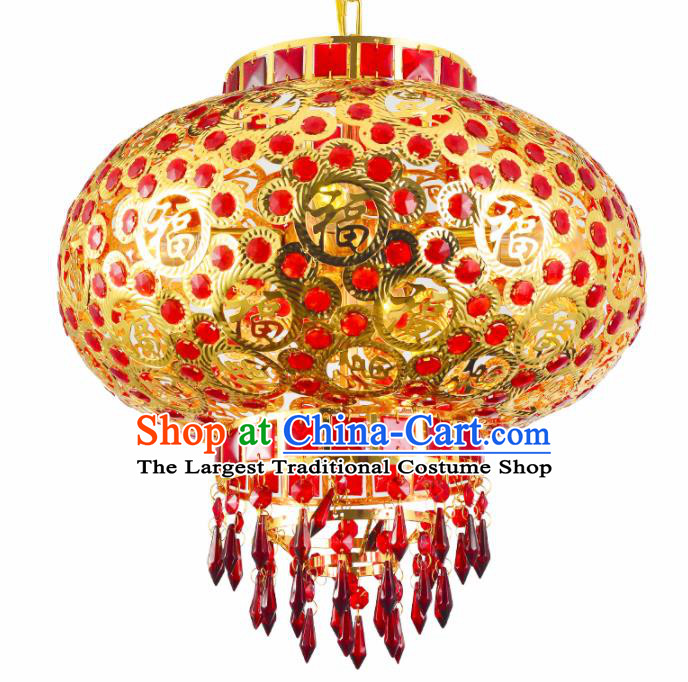 Chinese Traditional New Year Palace Lantern Handmade Hanging Lantern Asian Ceiling Lanterns Ancient Lamp