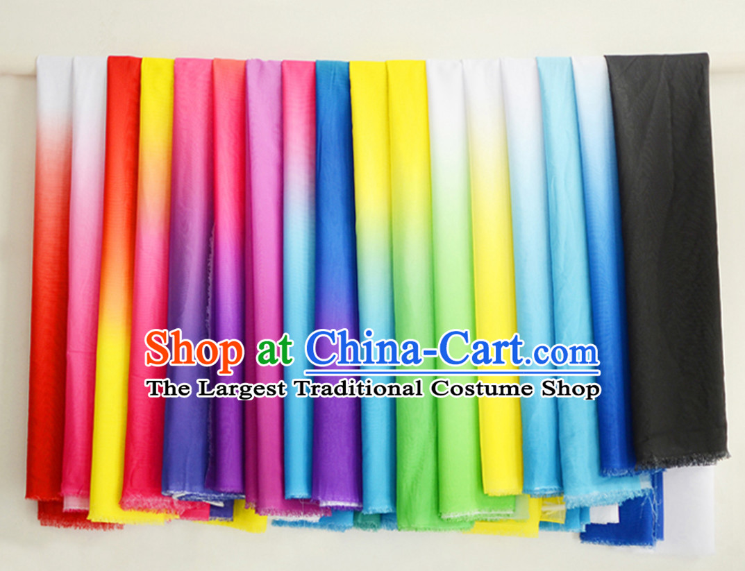Chinese China Color Changing Fabric Color Transition Chiffon Fabric