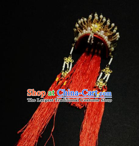 Traditional Chinese Handmade Beijing Opera Phoenix Coronet Ancient Princess Hairpins Hair Accessories for Women