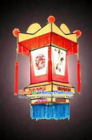 Chinese Traditional Red Palace Lantern New Year Hanging Lamp Lantern Festival Lamp