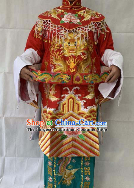 Chinese Beijing Opera Imperial Concubine Embroidered Dress Traditional Peking Opera Diva Costume for Women