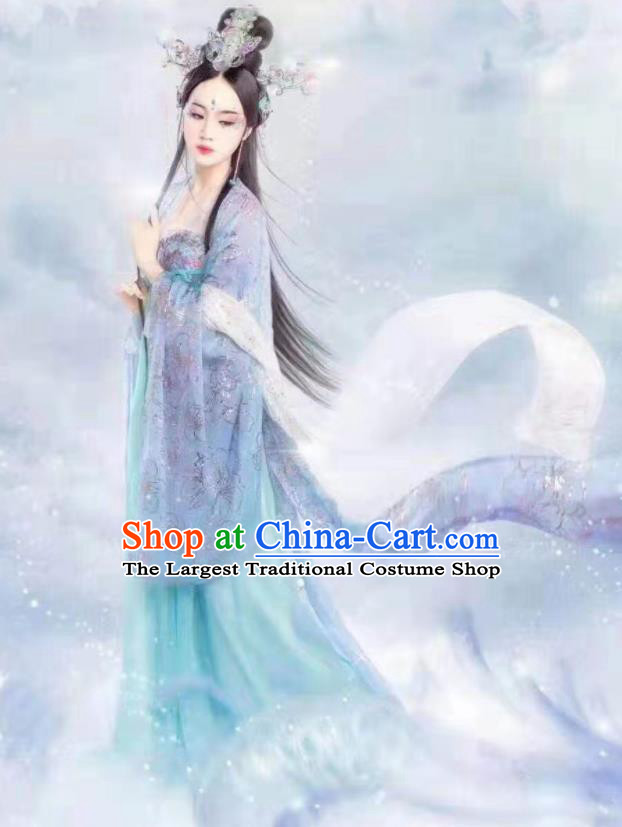 Ancient Chinese Tang Dynasty Imperial Consort Hanfu Dress Court Lady Historical Costumes for Women