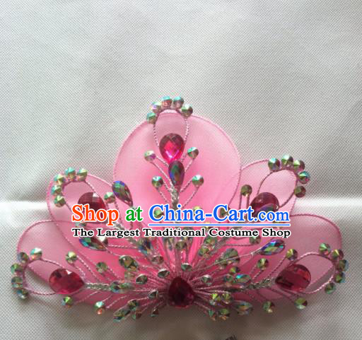Chinese Beijing Opera Nobility Lady Hairpins Traditional Peking Opera Diva Hair Accessories for Women
