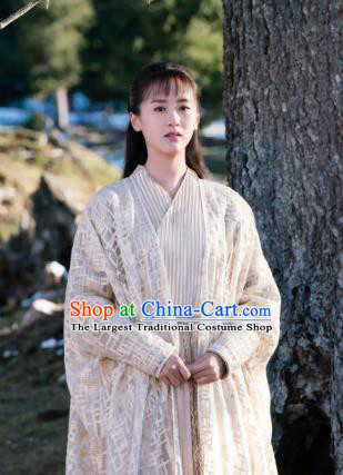 Ancient Chinese Drama Female Swordsman Mo Shanshan Ever Night Traditional Tang Dynasty Knight Costumes for Women