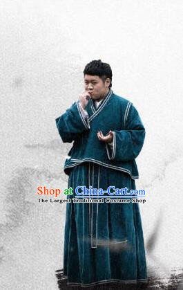 Ancient Chinese Drama Livehand Ever Night Traditional Tang Dynasty Civilian Chen Pipi Costumes for Men