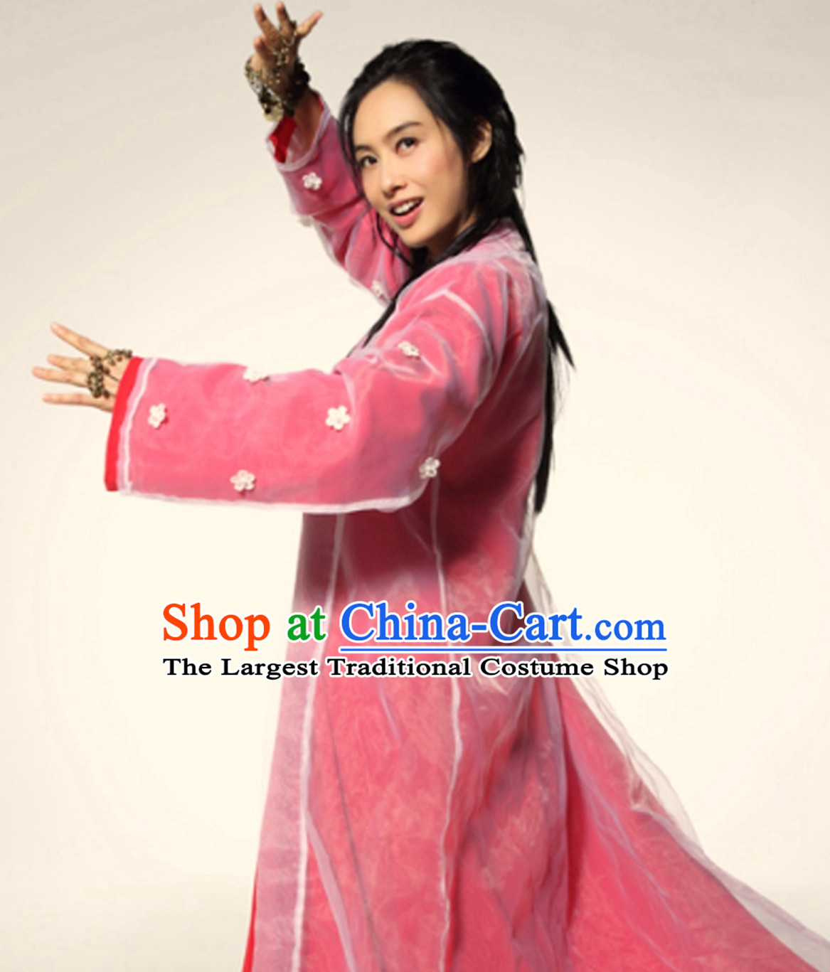 Journey to the West Stephan Chow Version Zhu Yin Zi Xia Fairy Costume Complete Set
