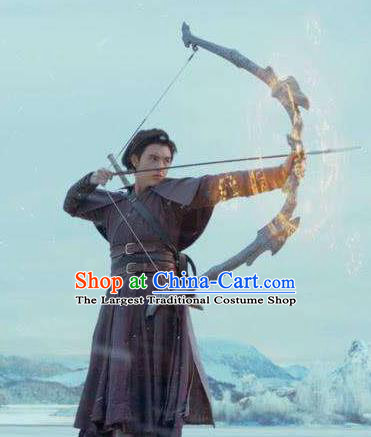 Ever Night Chinese Drama Ancient General Ning Que Armor Tang Dynasty Swordsman Costumes for Men