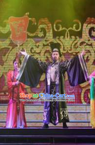 Chinese Han Wind Float In The Sky Han Dynasty Emperor Liu Bang Clothing Stage Performance Dance Costume for Men