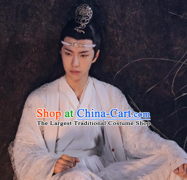 Drama The Untamed Chinese Ancient Swordsman Nobility Childe Lan Wangji Costumes for Men