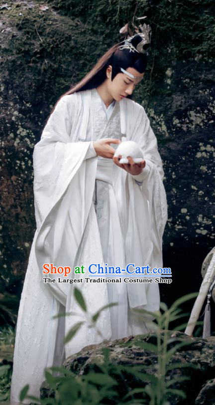 Drama The Untamed Chinese Ancient Swordsman Lan Zhan Nobility Childe Wang Yibo Costumes for Men
