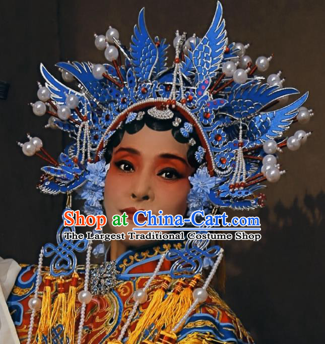 Traditional Chinese Beijing Opera Phoenix Coronet Hairpins Ancient Princess Hanfu Hair Accessories for Women