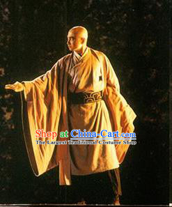 Chinese Drama Shang Yang Qin Dynasty Monk Clothing Stage Performance Dance Costume for Men
