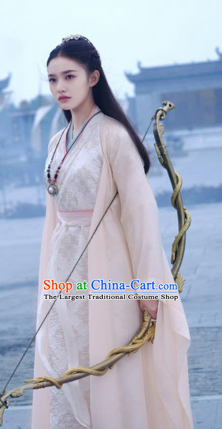 Fights Break Sphere Ancient Chinese Female Swordsman Xiao Xuner Lin Yun Hanfu Costumes for Women
