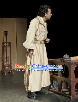 Chinese Drama I Love Taohua Ancient Swordsman Clothing Stage Performance Dance Costume for Men