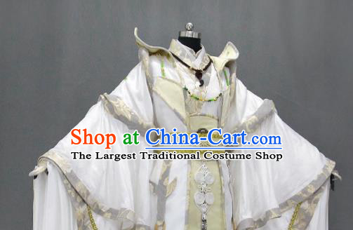 Customize Chinese Traditional Cosplay Emperor King Costumes Ancient Swordsman Clothing for Men