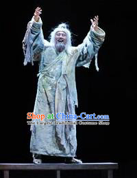 Chinese Drama Fu Sheng Ancient Qin Dynasty Confucian Scholar Clothing Stage Performance Dance Costume for Men