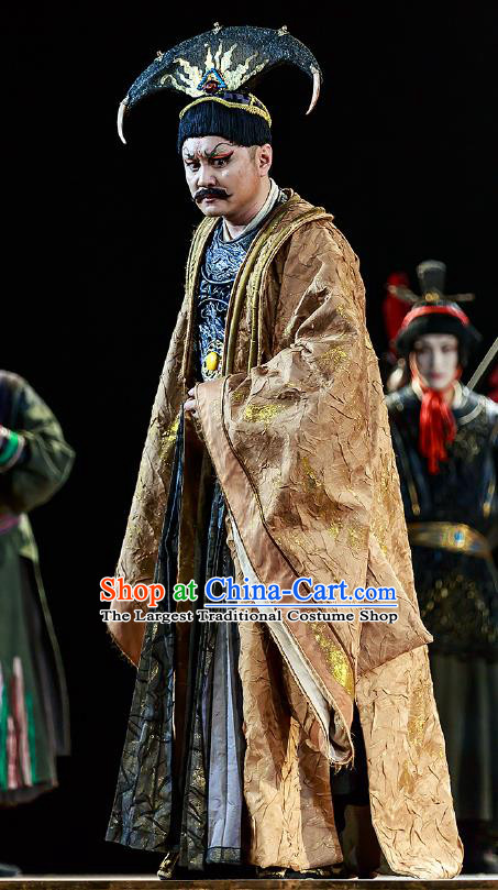 Chinese Drama Prince of Lanling Ancient Northern Dynasties King Clothing Stage Performance Dance Costume for Men