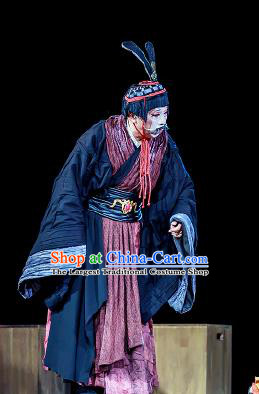 Chinese Drama Prince of Lanling Ancient Northern Dynasties Old Male Clothing Stage Performance Dance Costume for Men