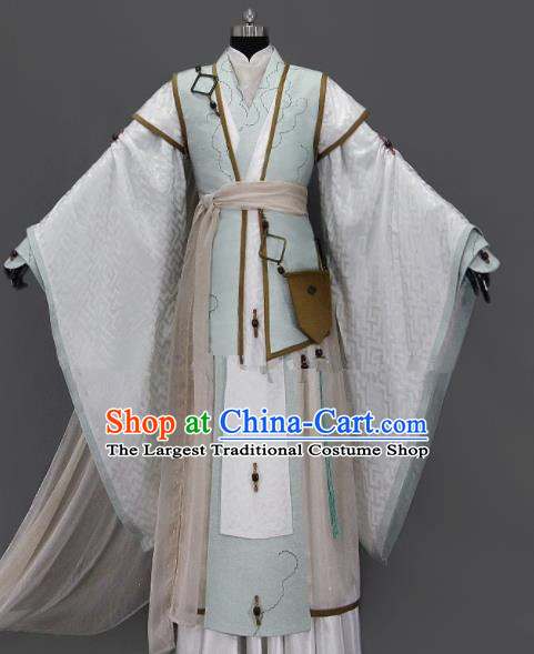 Customize Chinese Traditional Cosplay Prince Costumes Ancient Nobility Childe Swordsman Clothing for Men