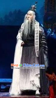 Chinese The Legend of Wang Yangming Ancient Taoist Clothing Stage Performance Dance Costume for Men