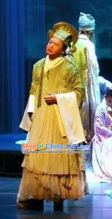 Chinese The Legend of Wang Yangming Ancient Scholar Clothing Stage Performance Dance Costume for Men