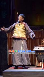 Chinese Drama Traditional Remedy Qing Dynasty Physician Clothing Stage Performance Dance Costume for Men